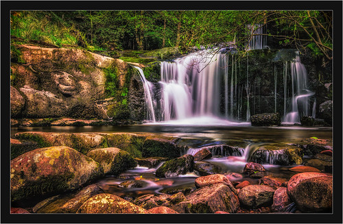 water wales canon landscapes waterfall unitedkingdom 1022mm talybontonusk 60d