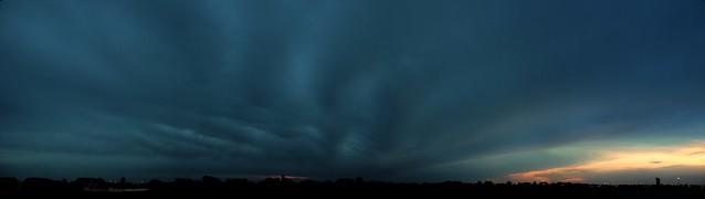 060313 - Dusk... Nebraska Thunderset! (Pano)