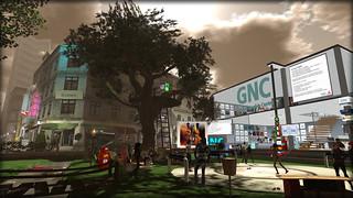 German Newbie Center GNC in NewBerlin, SecondLife, LindenLab