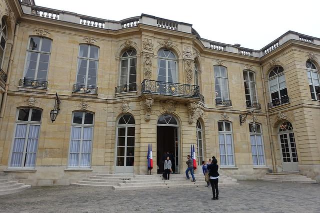 Hôtel Matignon @ Residence of the Prime Minister of France @ Paris