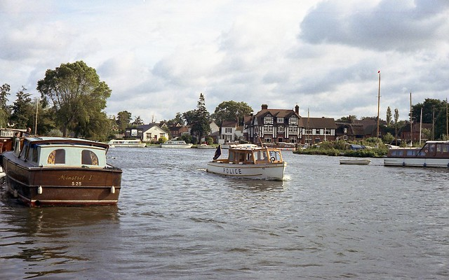 The River Police at Horning
