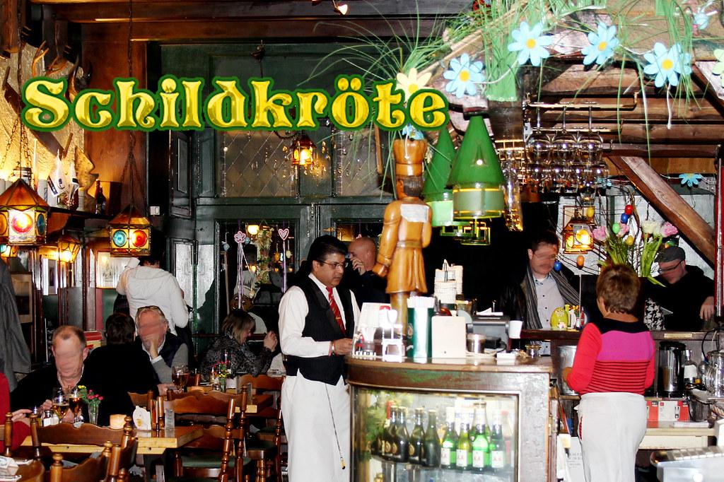 Guter Service Im Restaurant Schildkröte Berlin Berliner Re Flickr