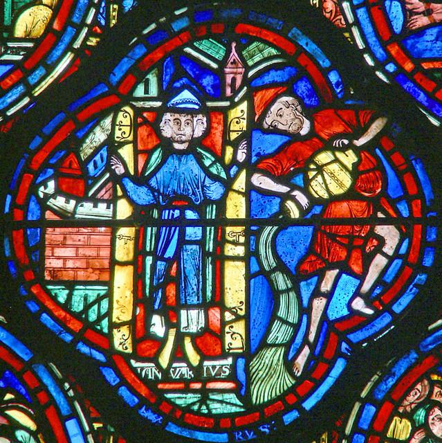 Chartres - January & Aquarius