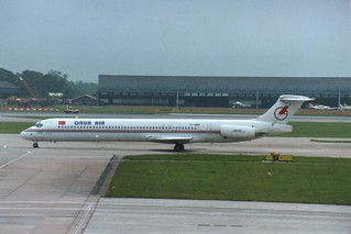 MANCHESTER MAY 1998 ONUR AIR DOUGLAS MD88 TC-ONM | by simonbutler2