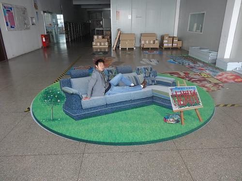 3D floor sticker for advertisement | by 3D floor sticker - YeJun