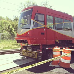 Getting Streetcar #2 on the Tracks