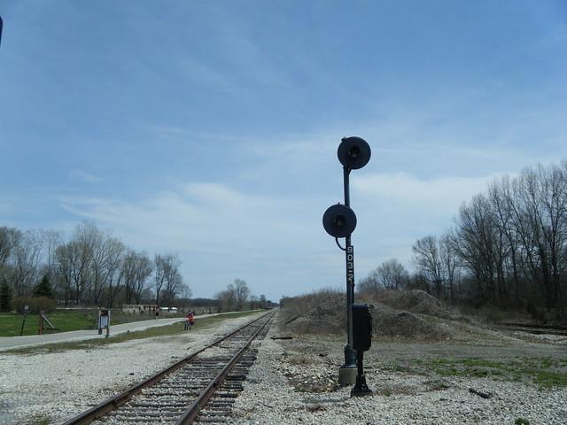 EL signal North Judson Indiana