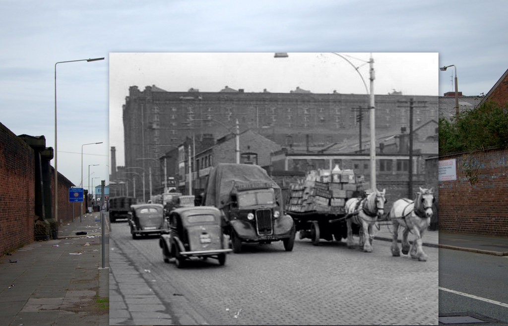 Dock Road, 1956 in 2013