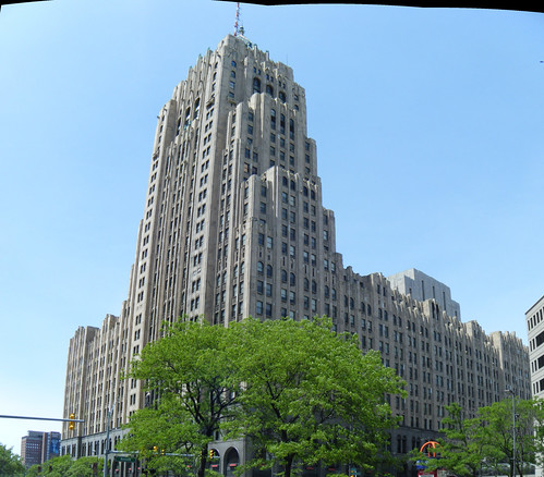 Fisher Building panorama | by Preetha & James