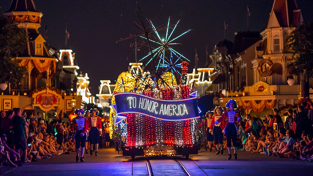 Magic Kingdom - To Honor America