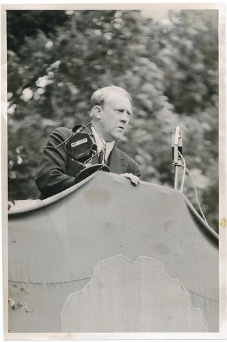 Vidkun Quisling taler til Trøndelagens bønder 1932.