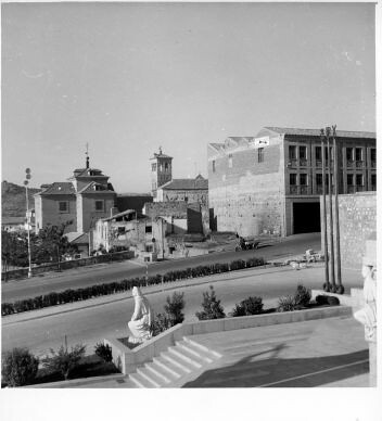 Corralillo de san Miguel  © Fondo Rodríguez. Archivo Histórico Provincial. JCCM. Signatura CT-173
