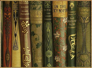 Vintage books by naturesdoorways | by Plum leaves