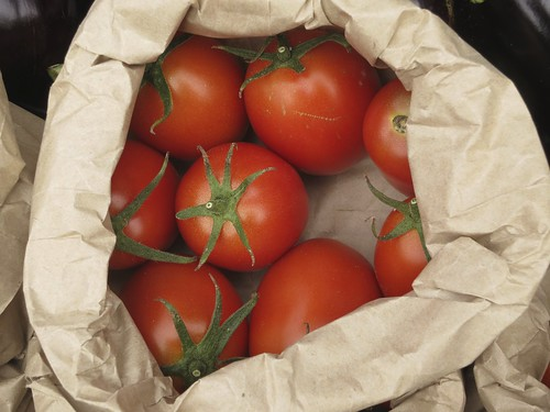 Bag tomatoes | by Helen K