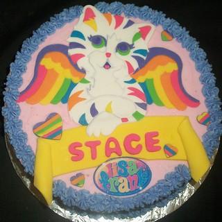 Prime Lisa Frank Cake Sweetmischiefja Noveltycake Frosted Flickr Funny Birthday Cards Online Alyptdamsfinfo