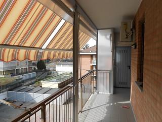 Binari Per Tende Pannello.Chiusura Completa Di Balcone Con Tenda Veranda Estate Inve