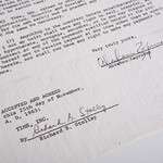 Abraham Zapruder's Contract with Life Magazine