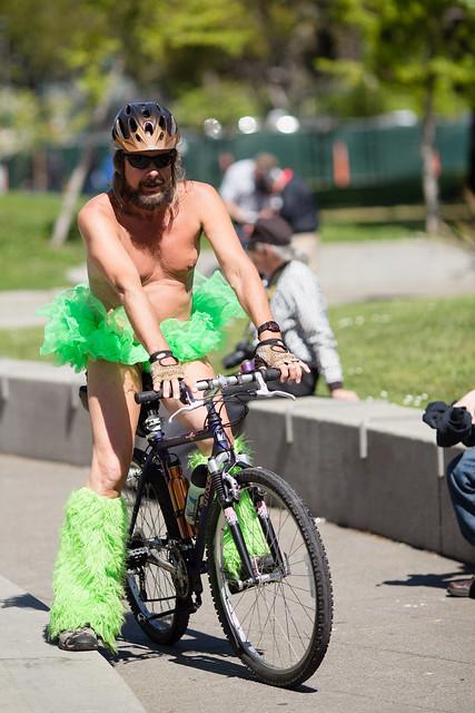 World Naked Bike Ride, San Francisco, WNBR - Dailymotion Video