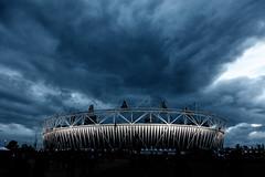 Dark Olympic Stadium