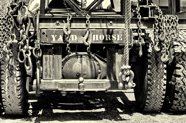 Shipyard Truck and Chains