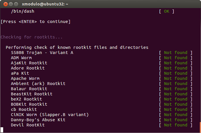 Scan for Rootkits with Rkhunter | How to scan Linux for root… | Flickr