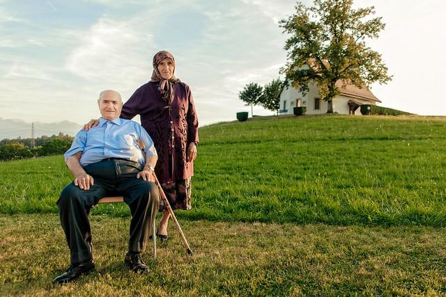 beautiful kurdish couple