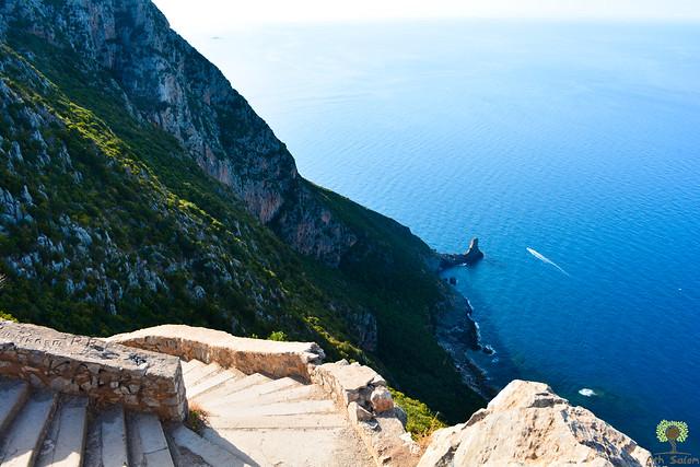 La pointe Sainte-Anne vue depuis le chemin vers le Pic des Singes (430m)