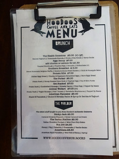 Menu (Sep 2016) at Hoodoos, Matthews Yard, Croydon, London CR0 | by Kake .