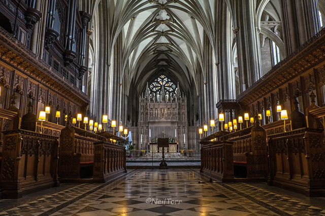 Bristol Cathedral Choir Stalls