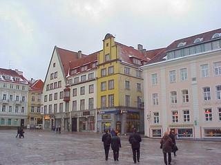 part of 'Raekoja plats' (Town Hall square) Tallinn