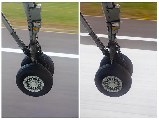 riga - landing gear diptych