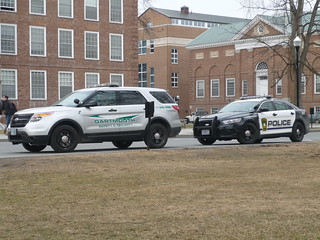 Ford Explorer Police Interceptor Utility (Dartmouth College Safety and Security) and Ford Taurus Police Interceptor (Hanover Police) | by JLaw45