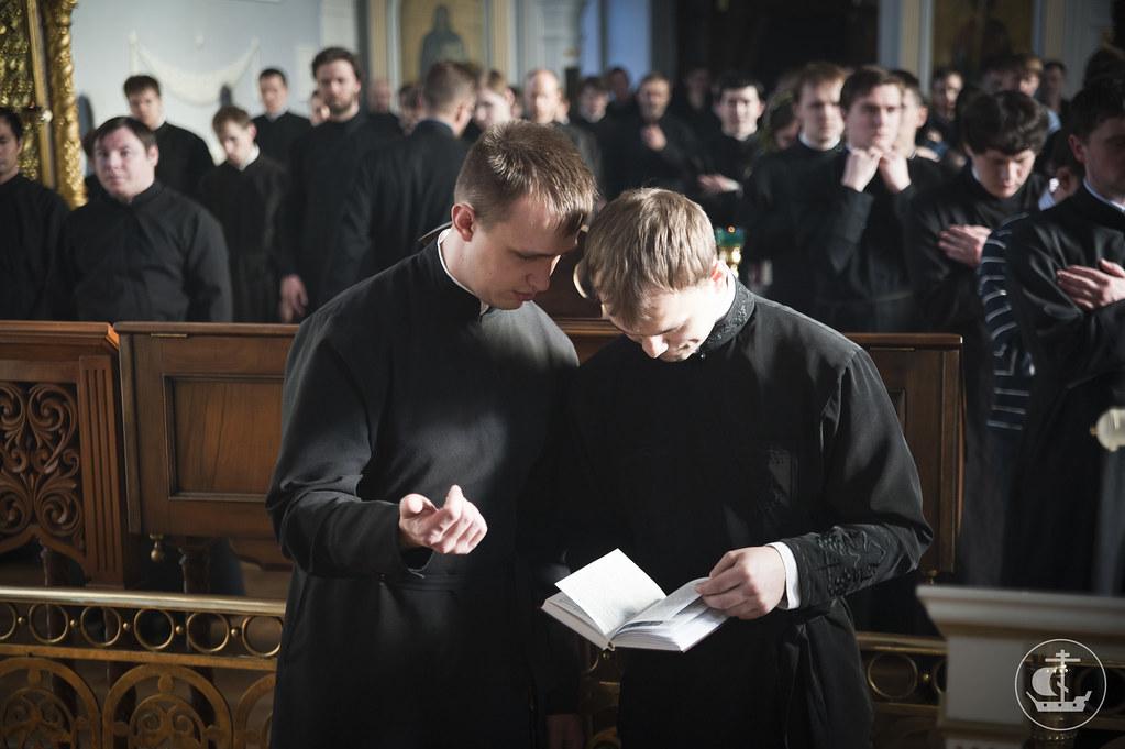 3 апреля 2013, Вечерняя Божественная литургия в седмицу 3-ю Великого Поста