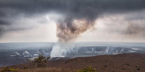 volcano hawaii lava nationalpark kona kilauea active 2013
