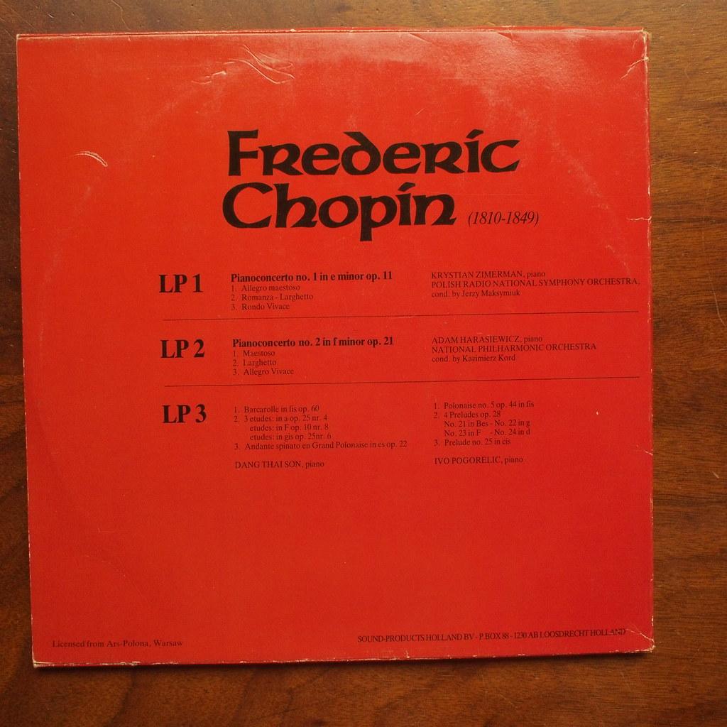 Backside Chopin - Piano Concerto No 1 op 11 - Krystian Zim
