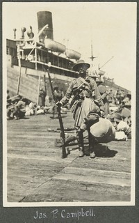 Jas. P. Campbell, [Port Melbourne, Vic in Feb. 1915].