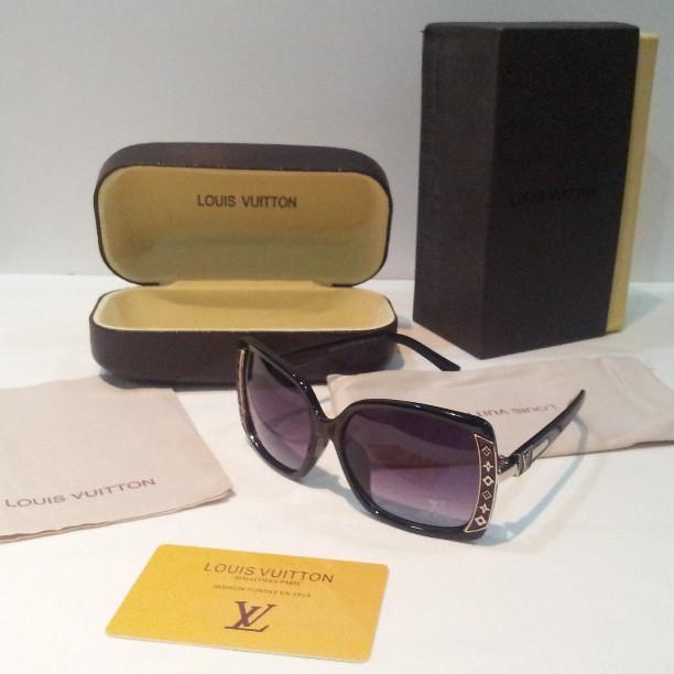 6a844c3fa ... نظارات شمسية لعشاق التميز ومحبي الماركات العالمية , مع علب أصلية LOUIS  VUITTON-1 السعر
