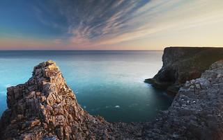 The Sea Cliffs of Pembroke | by dldx
