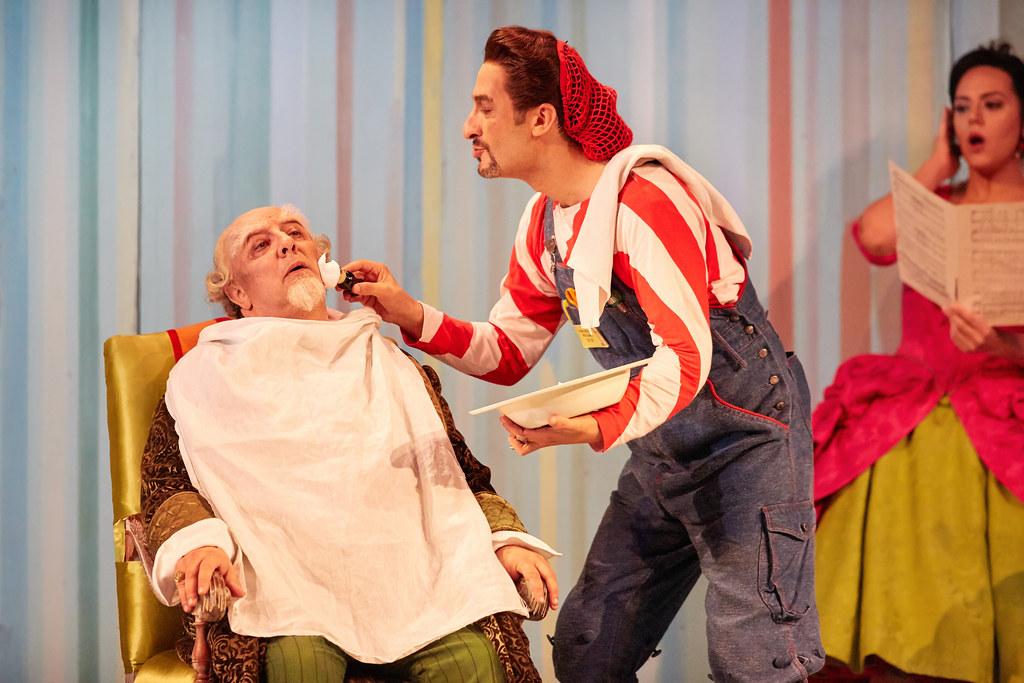 Jose Fardilha As Don Bartolo And Vito Priante As Figaro In Flickr