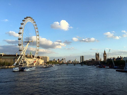 The London Eye, Palace of Westminster and the Thames | by elsua