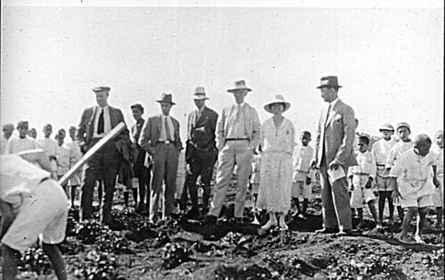 Vidkun Quisling sammen med Fridtjof Nansen i forbindelse med hjelpearbeidet i Armenia, 1925.