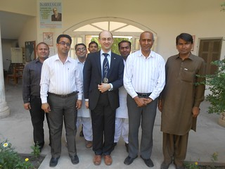 Visit to Mathematics Deptartment at SALU, Pakistan, 8 March 2013 | by azsoftmatter
