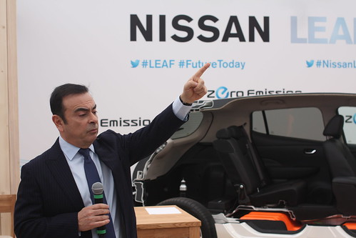 Carlos Ghosn visiting Norway | by Elbilforeningen