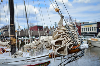 Ships in the Annapolis harbor | by m01229