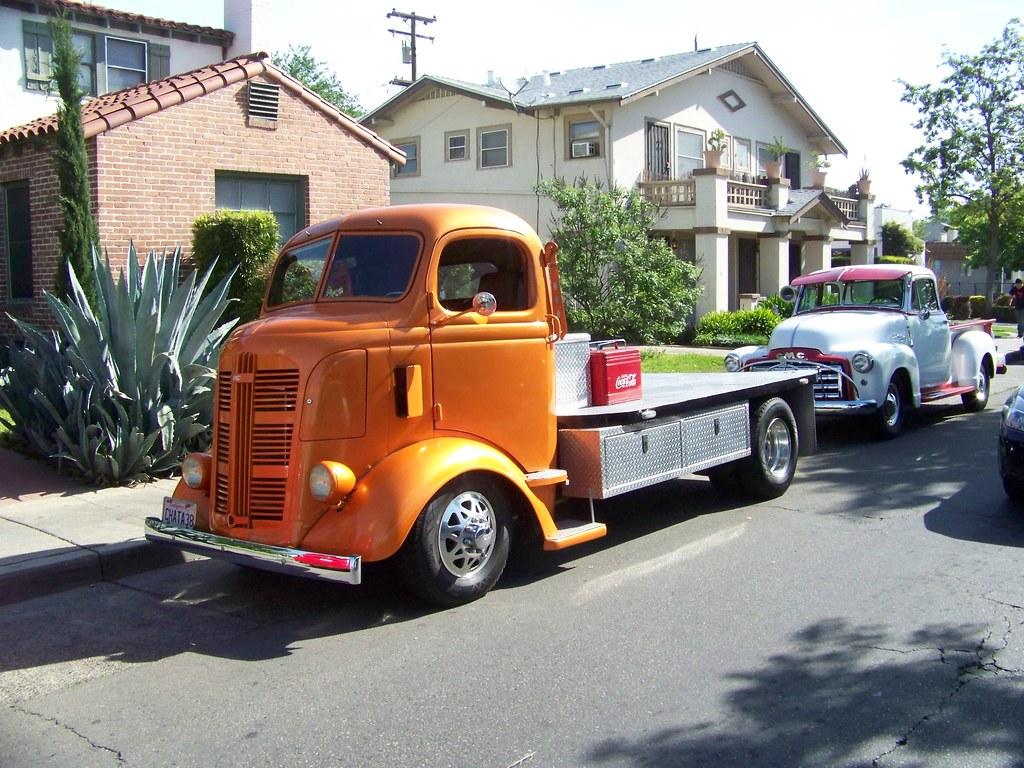 Custom 1938 Gmc Coe And 1950 Gmc Pickup Kool Trucks Pa Flickr