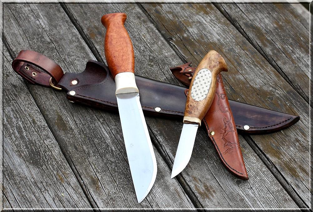 Wood-Jewel-COLTELLO finlandesi-COLTELLO Sami COLTELLO da caccia vuolu 8