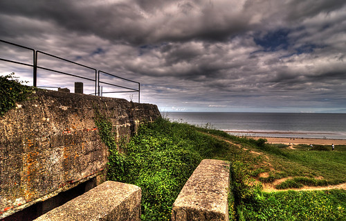 Widerstandsnest 62 - Omaha Beach, Easy Red Sector, Normandy, France