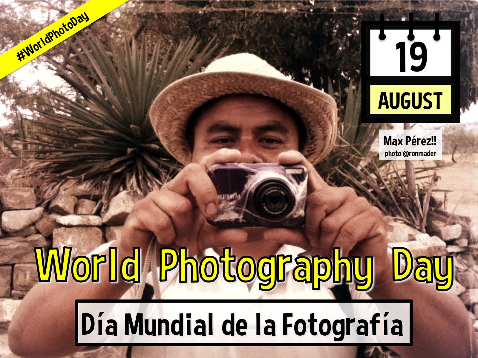 August 19 Is World Photography Day Planeta Com