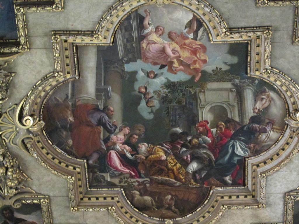 Ceiling detail, Scuola Grande di San Rocco