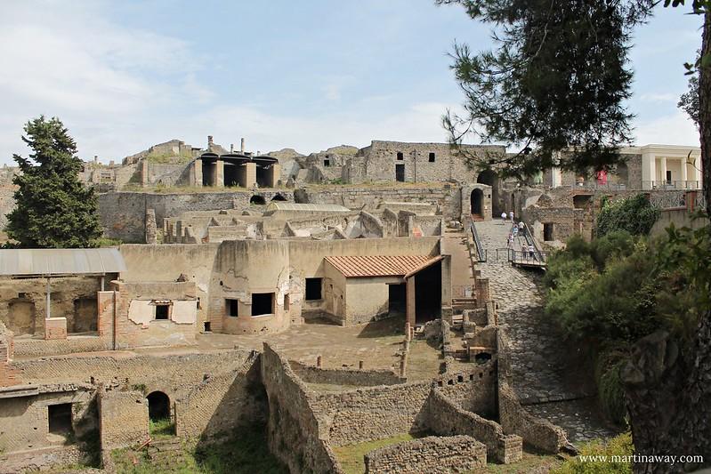 Scavi di Pompei, Terme Suburbane